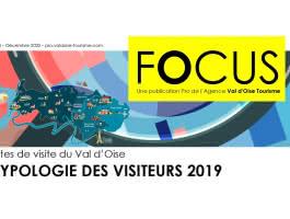 Sites de visite du Val d'Oise : Typologie des visiteurs 2019