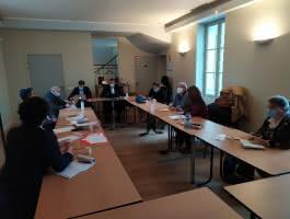 Rencontre avec les élus de la Communauté de Communes Carnelle Pays-de-France