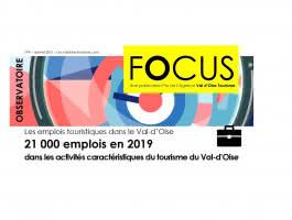 Les emplois touristiques dans le Val d'Oise