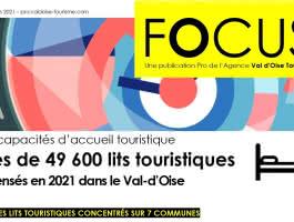 Les hébergements touristiques dans le Val d'Oise