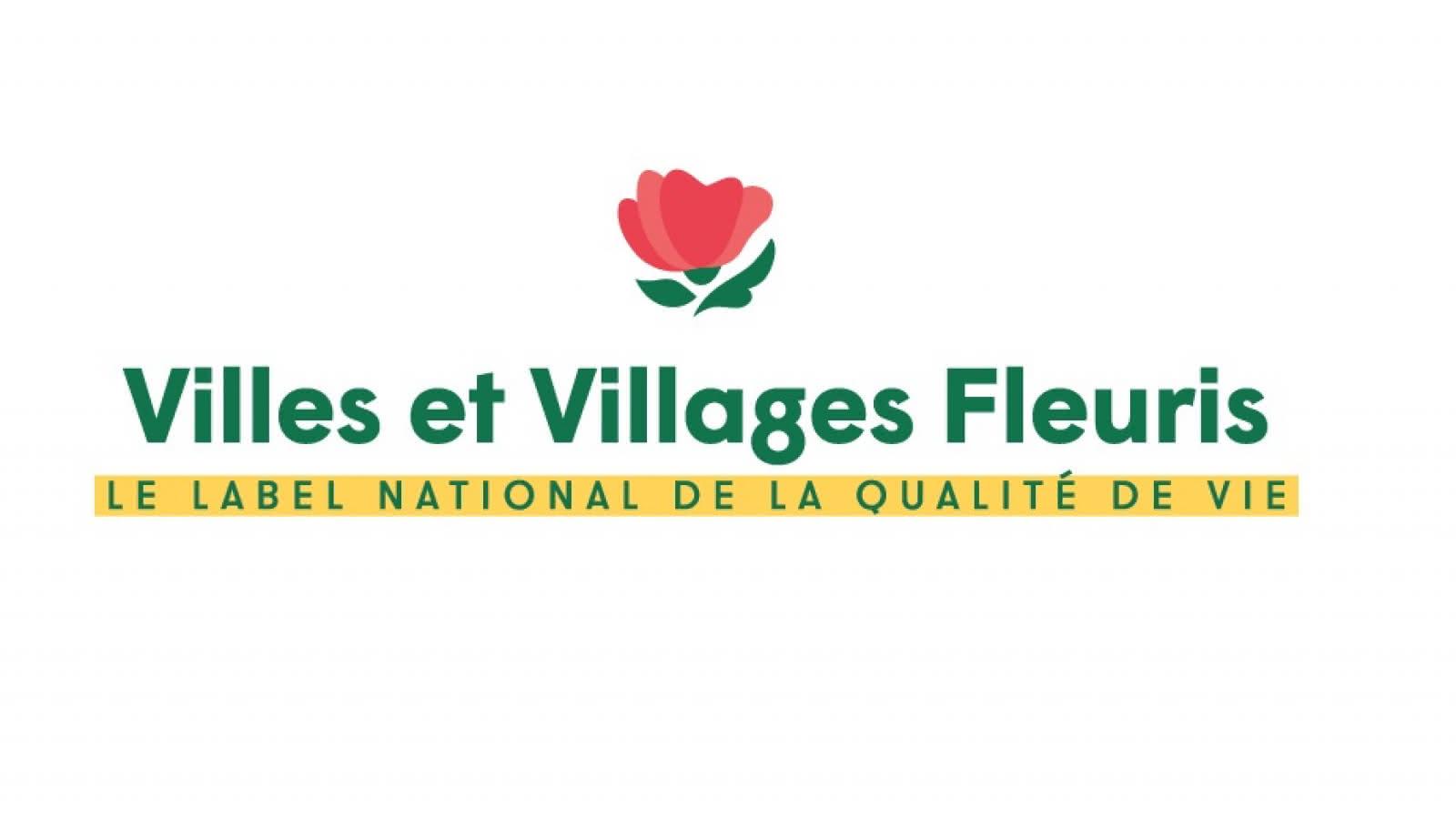 Logo officiel Villes et Villages fleuris