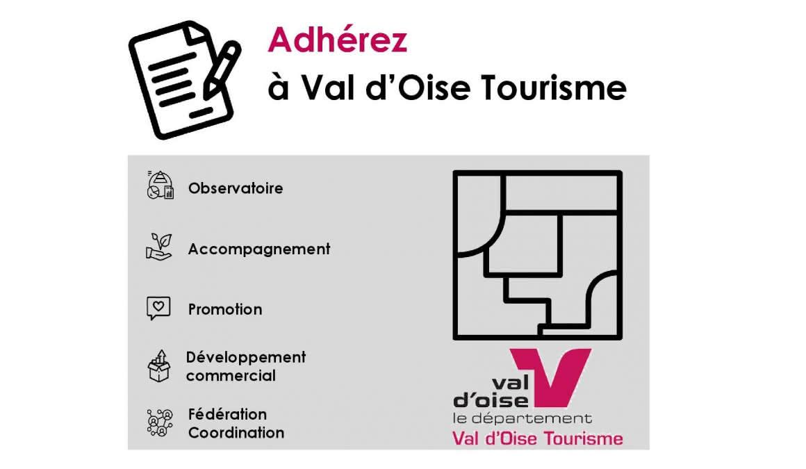Devenir adhérent à Val d'Oise Tourisme